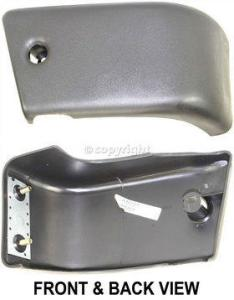 1984-1988 Toyota Pickup Bumper End, Front, Passenger Side