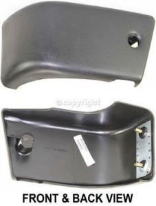 1984-1988 Toyota Pickup Bumper End, Front, Driver Side