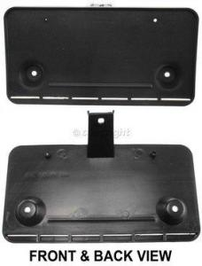 1992-1996 Ford F-150 License Plate Bracket, Front