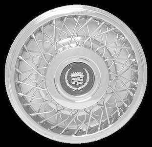 "1989-1993 Cadillac Deville FWD 15"" Wheel Cover"