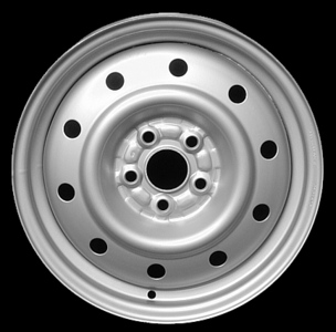 "1995-2001 Subaru Impreza 15"" X 6"" Steel Wheel"