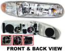 1999 Buick Century Headlight, Passenger Side