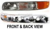 1993 Nissan Altima Parking Light, Driver Side