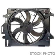 2012 Hyundai Veloster Cooling Fan Assembly