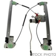 2010 Saturn Outlook Front Window Regulator, Driver Side