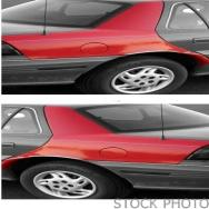 1998 Nissan Quest Quarter Panel, Driver Side